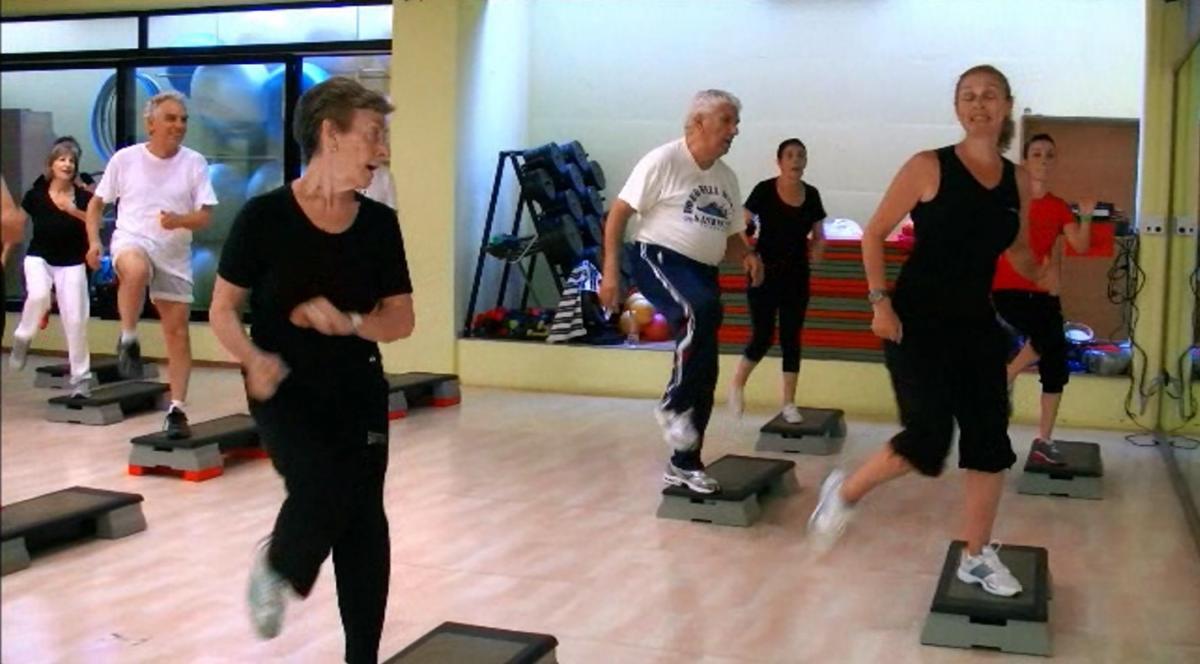 anziani sportivi