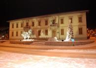 Comune di Montemurlo con la neve - foto di Giuliano Meacci