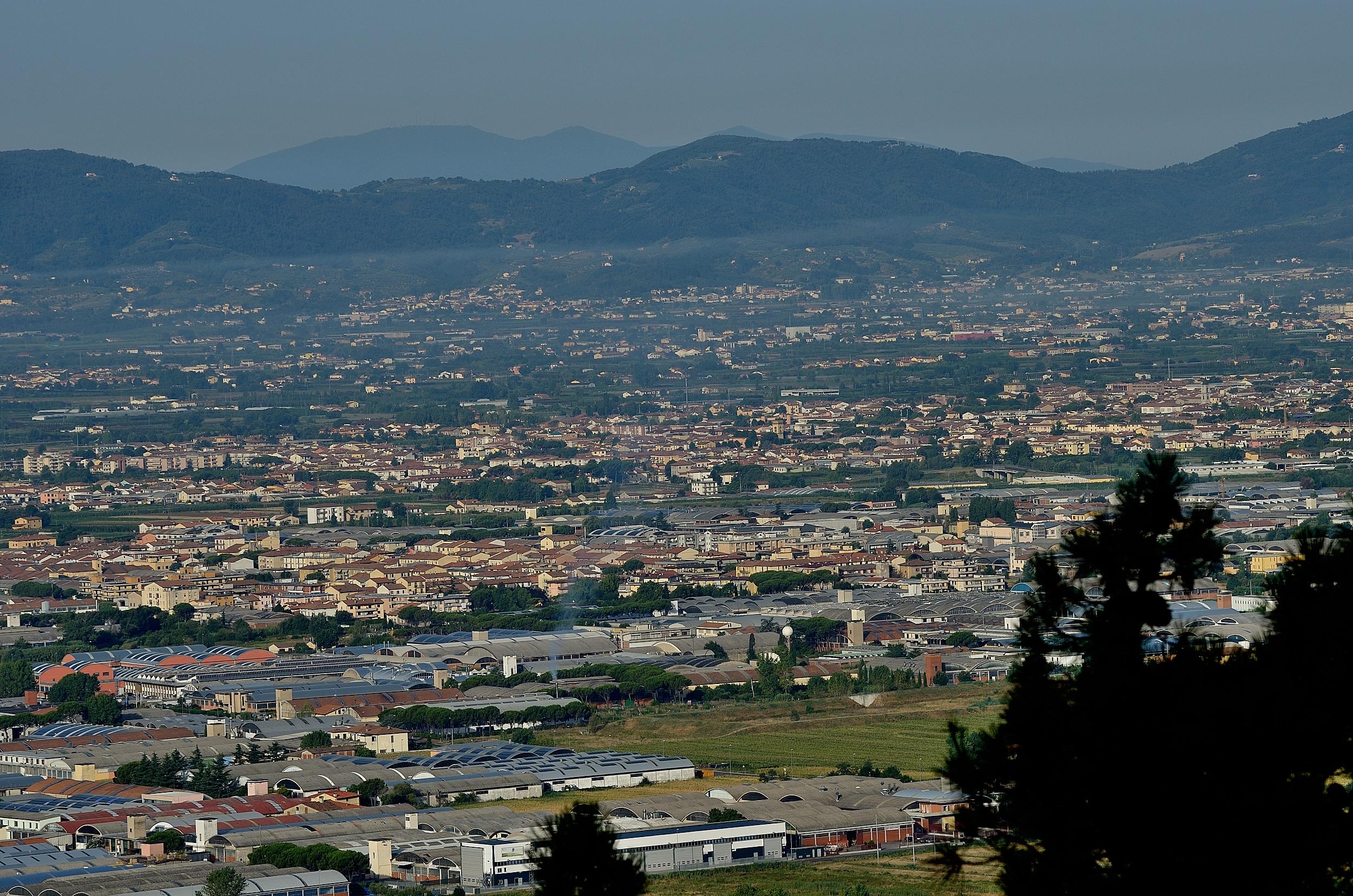 Zona industriale di Montemurlo - foto di Giuliano Meacci